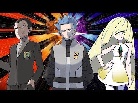 Pokémon - All Villain and Antagonist Battle Themes