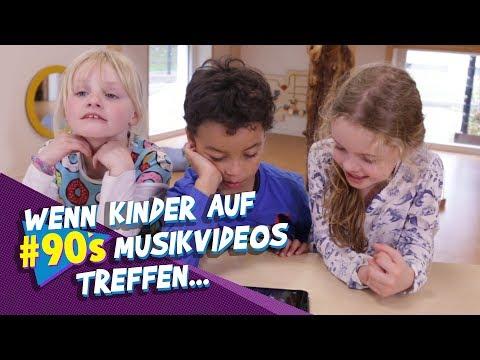 Kinder von heute schauen Musikvideos aus den 90ern #90sUpdate