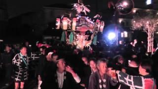 平成26年 世田谷区中町・天祖神社例大祭 宮神輿=夜渡御