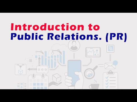 Introduction to Public Relations - YouTube