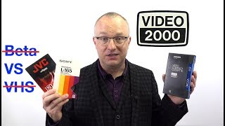 Video History: V2000 - The format that came third in a two-horse race