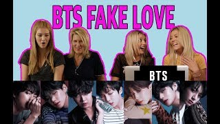 BTS 'FAKE LOVE' MV Reaction!!
