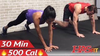 30 Minute Cardio HIIT Workout for People Who Get Bored Easily - Home Workout without Equipment no by HASfit