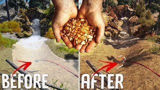 I Mined So Much Gold I Drained A River - Wave Table Upgrade & Water Troubles - Gold Rush