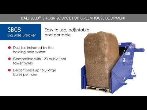 SB08 Big Bale Breaker - SB Machinerie thumbnail