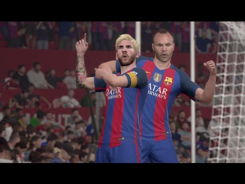 ROAD TO DIVISION 1 #1 - BARCELONA VS MAN UTD - FIFA 17 Online Seasons Gameplay