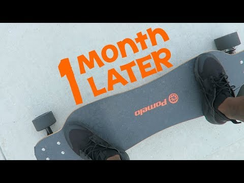 Pomelo P5 (Electric Skateboard) ONE Month Later Review! (Heavy Usage)