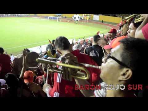 """""""Mucho aguante y carnaval en Palmira - Barón Rojo Sur Colombia"""" Barra: Baron Rojo Sur • Club: América de Cáli"""