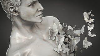 SculptJanuary18 // Male Torso