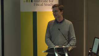 The ageing population and pensions: will we cope? David Sturrock, Institute for Fiscal Studies