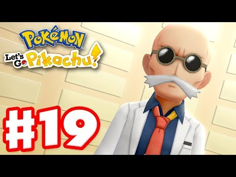 Gym Leader Quiz Master Blaine! – Pokemon Let's Go Pikachu and Eevee – Gameplay Walkthrough Part 19