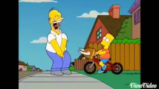 Homer Simpson Getting Hurt Montage