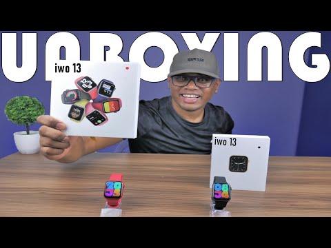 Apple Watch Serie 6 de baixo Custo IWO 13 UNBOXING