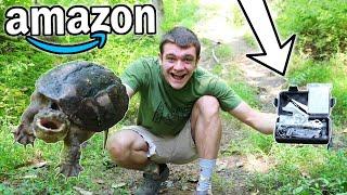 $25 AMAZON Survival Kit! (Survival Challenge)