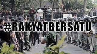 Situasi Demo Mahasiswa di Depan Gedung DPR