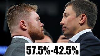 Ультиматум от команды Канело. Головкин должен принят 57.5-42.5% до завтра!