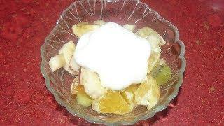 Фруктовый десерт к празднику или легкий завтрак после застолья.