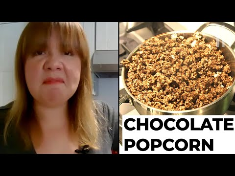 Don't Make the TikTok Chocolate Popcorn     Hack or Wack