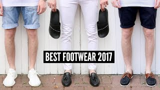 4 SHOES EVERY GUY SHOULD OWN - NEW BEST Footwear For Summer 2017
