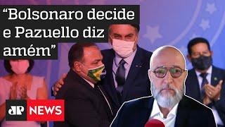 Josias de Souza: Bolsonaro chama cientistas de imbecis ao defender a cloroquina