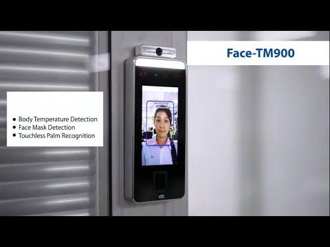 Face Recognition Temperature Measurement Display Machine For Attendance & Biometric Acess
