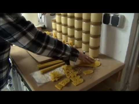 Imkerei 35  Bienenwachskerzen Gießen