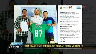 Ilija Spasojevic Bergabung dengan Bhayangkara FC