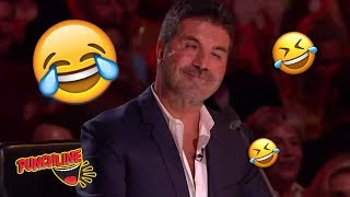 COMEDIAN MAKES A JOKE ABOUT SIMON GETS HUGE APPLAUSE! Britain's Got Talent