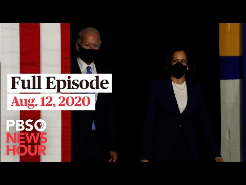 PBS NewsHour full episode, Aug. 12, 2020