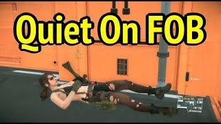 Play as Quiet on FOB in MGSV: Phantom Pain (Metal Gear Solid 5)