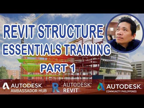 Revit STRUCTURE Essentials Training (Part1)! - YouTube