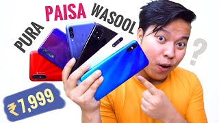 Best Smartphones Under 8000 & 10000 Buy After LockDown ⚡⚡ Ft. Samsung, Realme, Xiaomi, Infinix ,Vivo