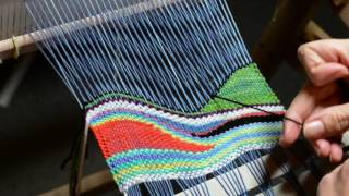 Tapestry Style Weaving On A Rigid Heddle Loom, Part 2