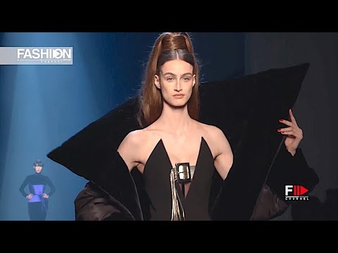 GAULTIER PARIS Haute Couture Fall 2019 Paris - Fashion Channel