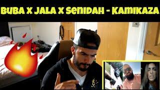 Jala Brat X Buba Corelli X Senidah   Kamikaza (Balkan Music REACTION)