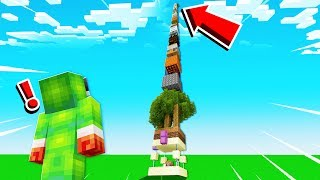 SURVIVING ON THE WORLD'S TALLEST TOWER!