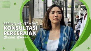 Gisella Anastasia Akui Sering Jadi Tempat Konsultasi Perceraian setelah Pisah dengan Gading Marten