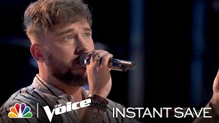 """Corey Ward's Wildcard Instant Save Performance: """"Lose You to Love Me"""" - Voice Top 17 Results 2021"""