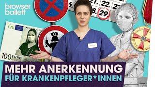 KrankenpflegerInnen verdienen Respekt
