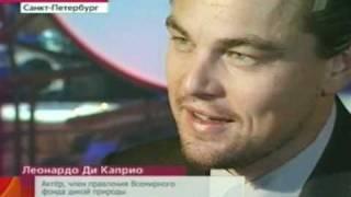 Leo DiCaprio (Lev Smirnov) in St.Petersburg,Russia-24.11.2010