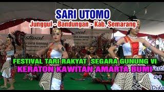 Gambar cover SARI UTOMO - FESTIVAL TARI RAKYAT SEGARA GUNUNG VI - Keraton Kawitan Amerta Bumi Sekatul 2018