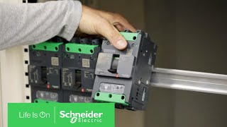 Compact™ NSXm Circuit Breaker Featuring Flexible Mounting | Schneider Electric
