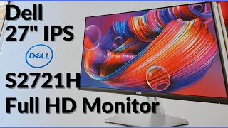 "Dell Monitor S2721H vs S2721HN vs S2721HS - Almost borderless Full HD 27"" IPS monitor"