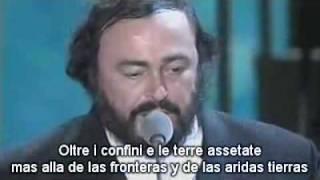 U2 & Pavarotti - Miss Sarajevo (subtitulado español -espiritual amor