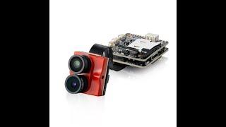 Caddx Tarsier 4K 30fps 1200TVL Dual Lens Super WDR WiFi Mini FPV Camera HD Recording DVR Dual Audio