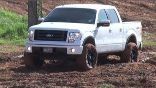 NEW FORD F-150 FX4 CREW CAB ON MUD GRAPPLERS at TRUCKS GONE WILD!