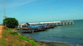 Chilka boat jetty, Orissa