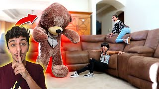 GIANT TEDDY BEAR COMES TO LIFE! (INSANE FREAKOUT)