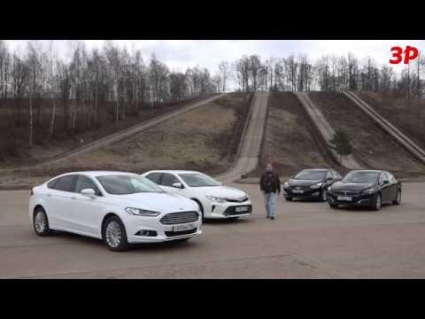 Ford Mondeo Liftback Лифтбек класса D - тест-драйв 5
