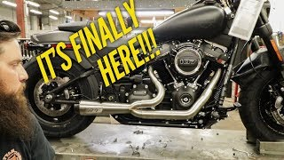 2018 Softail Exhaust Two Brothers Racing